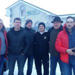 16 февраля. Гости из Латвии